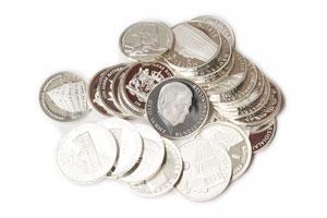 Silbermedaillien Ankauf