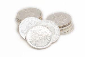 Silbermedaillien verkaufen